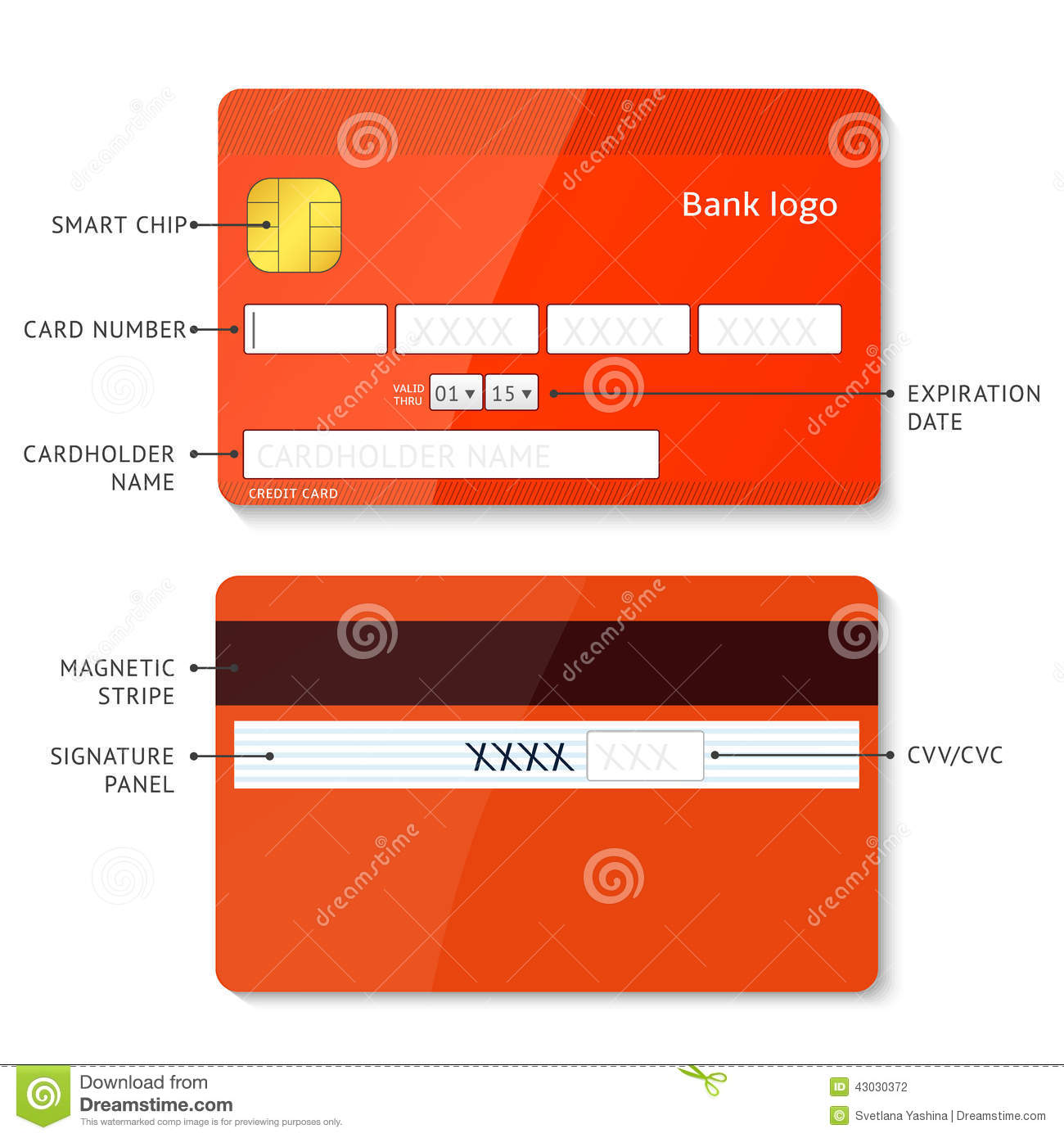 Credit Card Payment Stock Vector. Illustration Of Layout