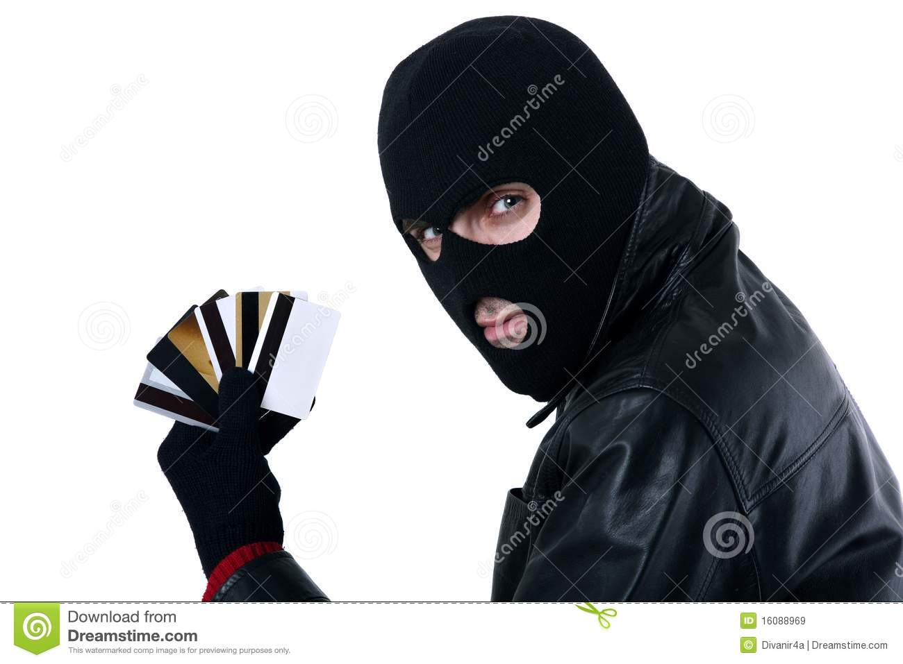Credit Card Thief Royalty Free Stock Images Image 16088969