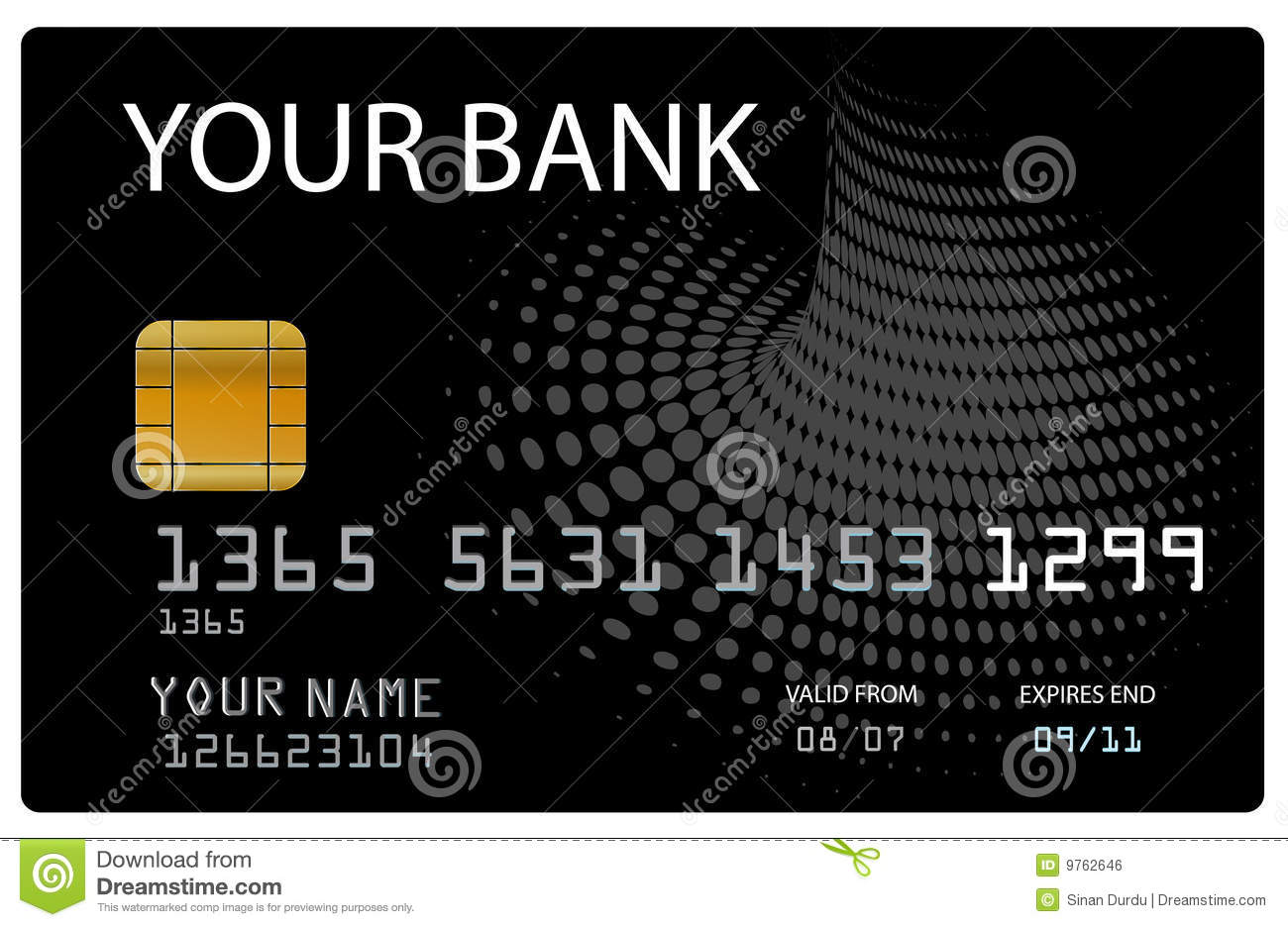 Credit card for your bank