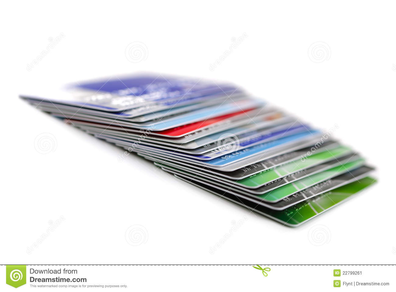 Credit Cards Stock Image Image 22799261
