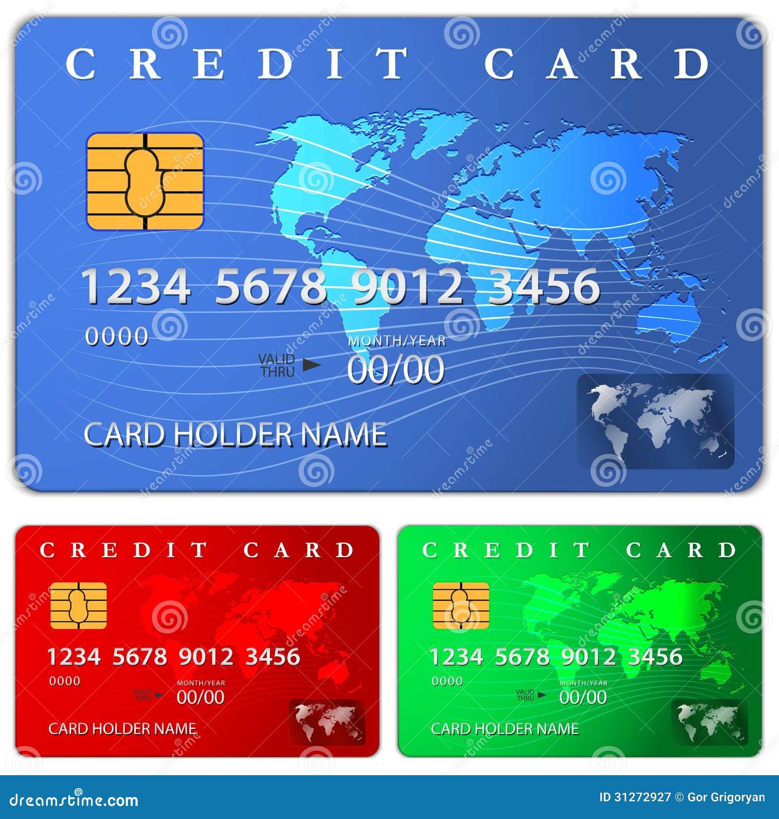 credit or debit card design template stock vector image 31272927. Black Bedroom Furniture Sets. Home Design Ideas