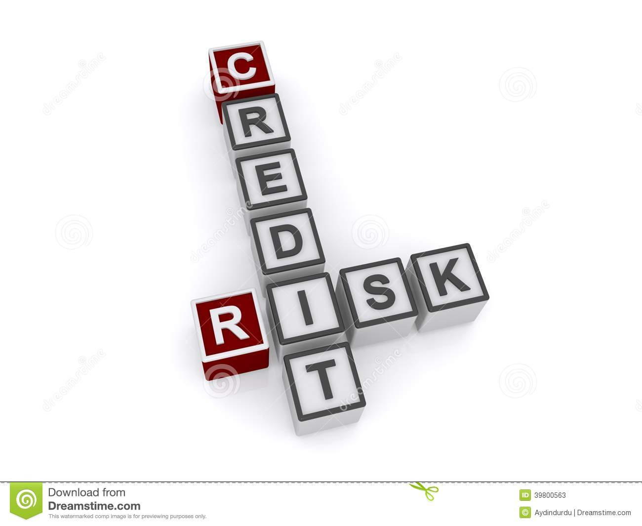 Credit Risk Stock Illustration Image Of Word Concept
