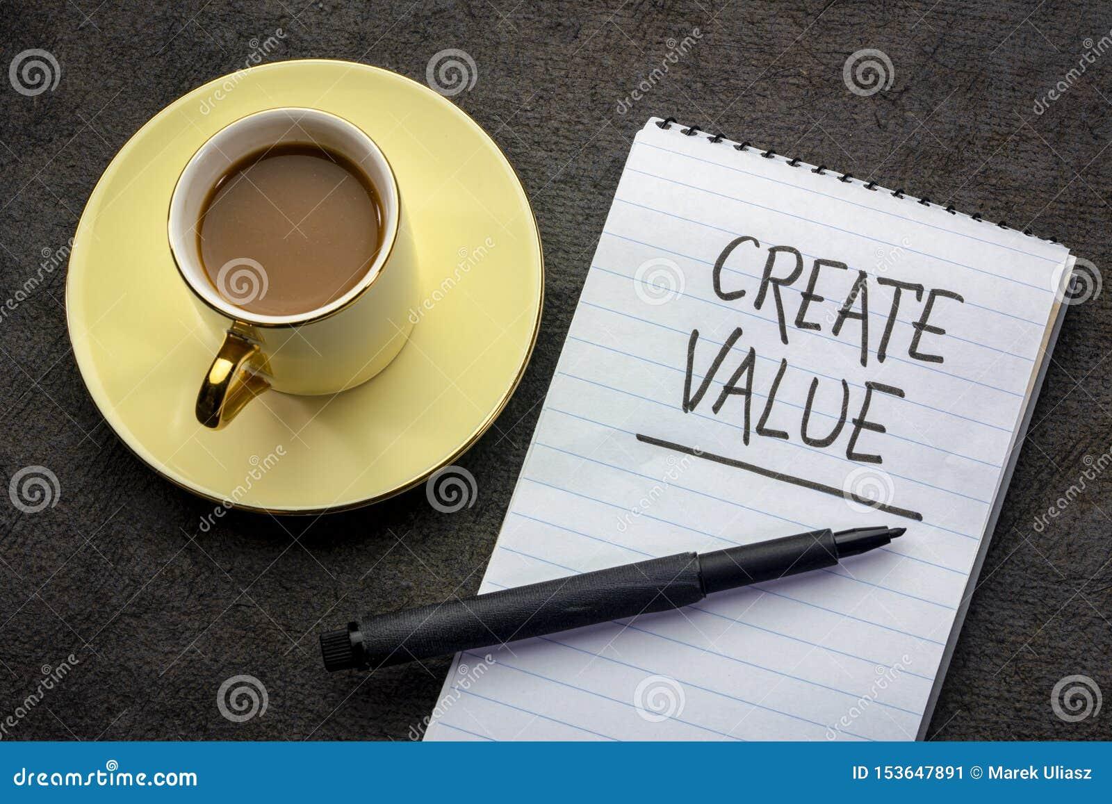 Creeer waardehandschrift