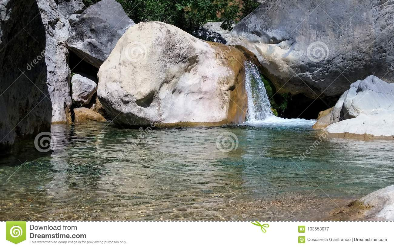 Creek Barbaria, Rocchetta Nervina, Liguria - Italy
