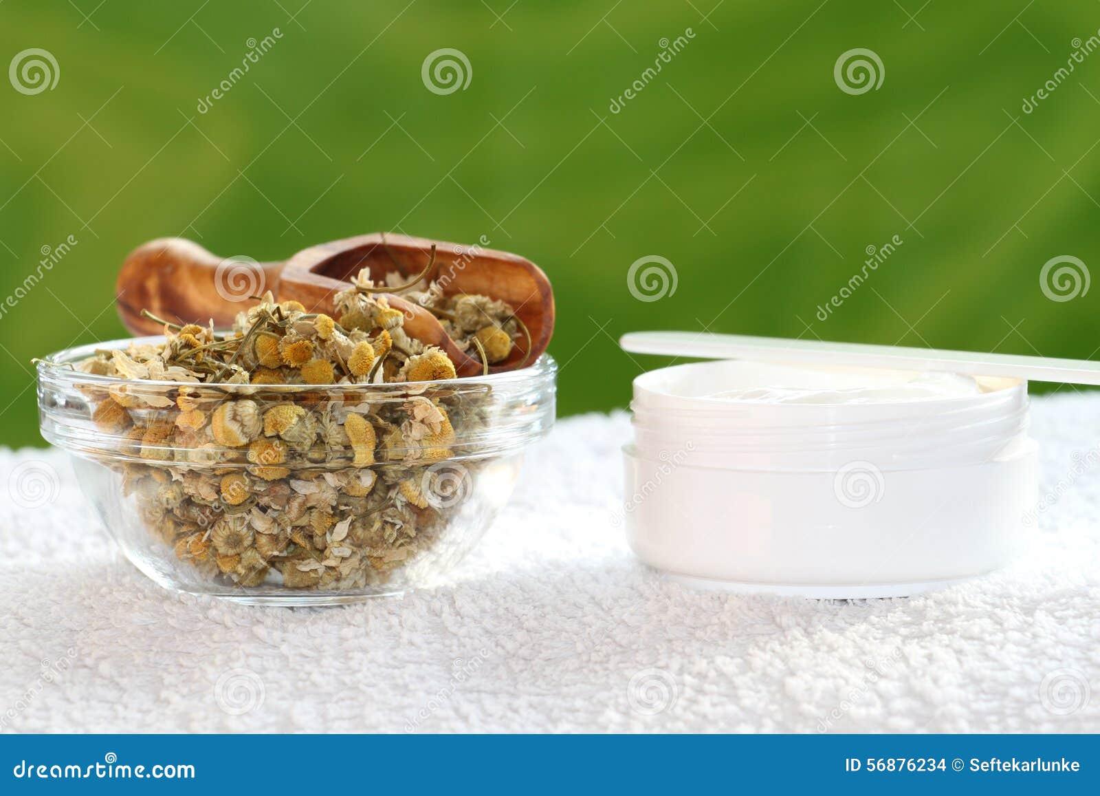 Crema della camomilla