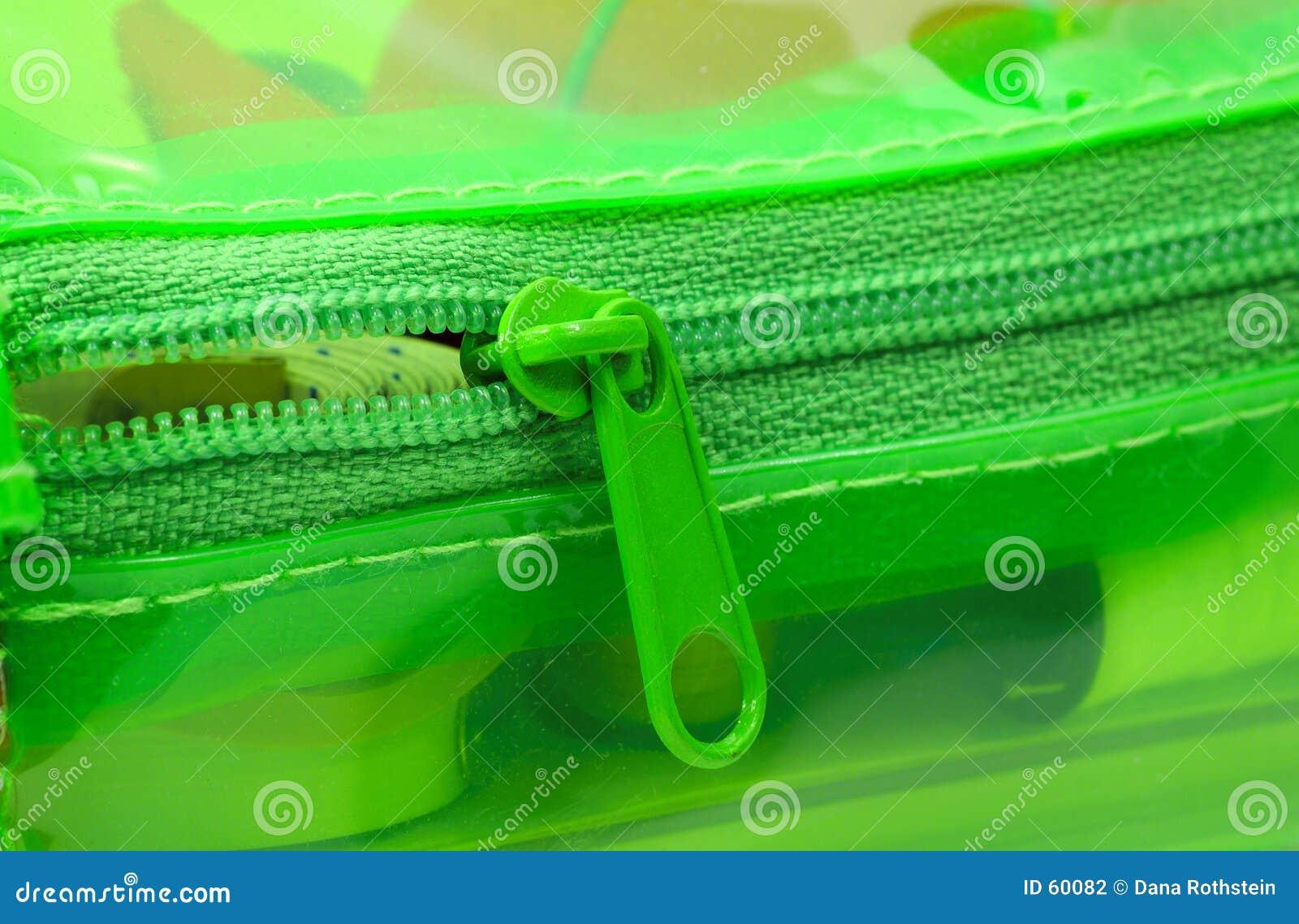 Cremallera verde