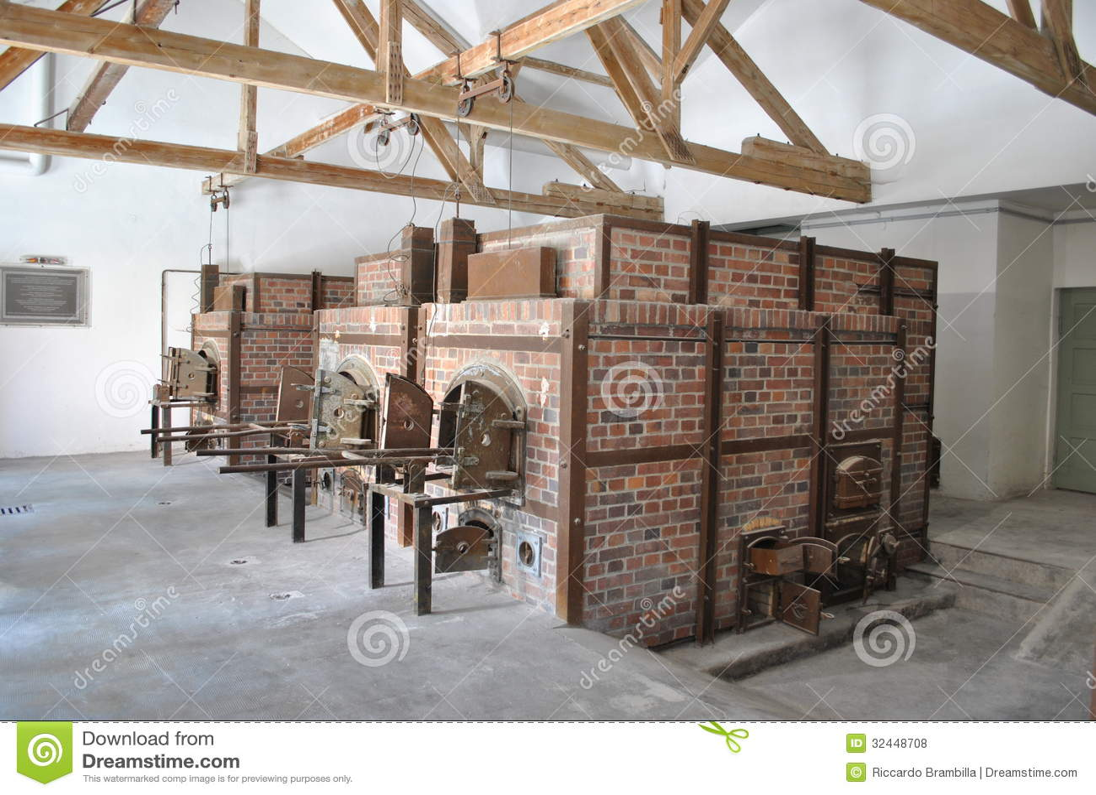 Crematorium przy Dachau 1