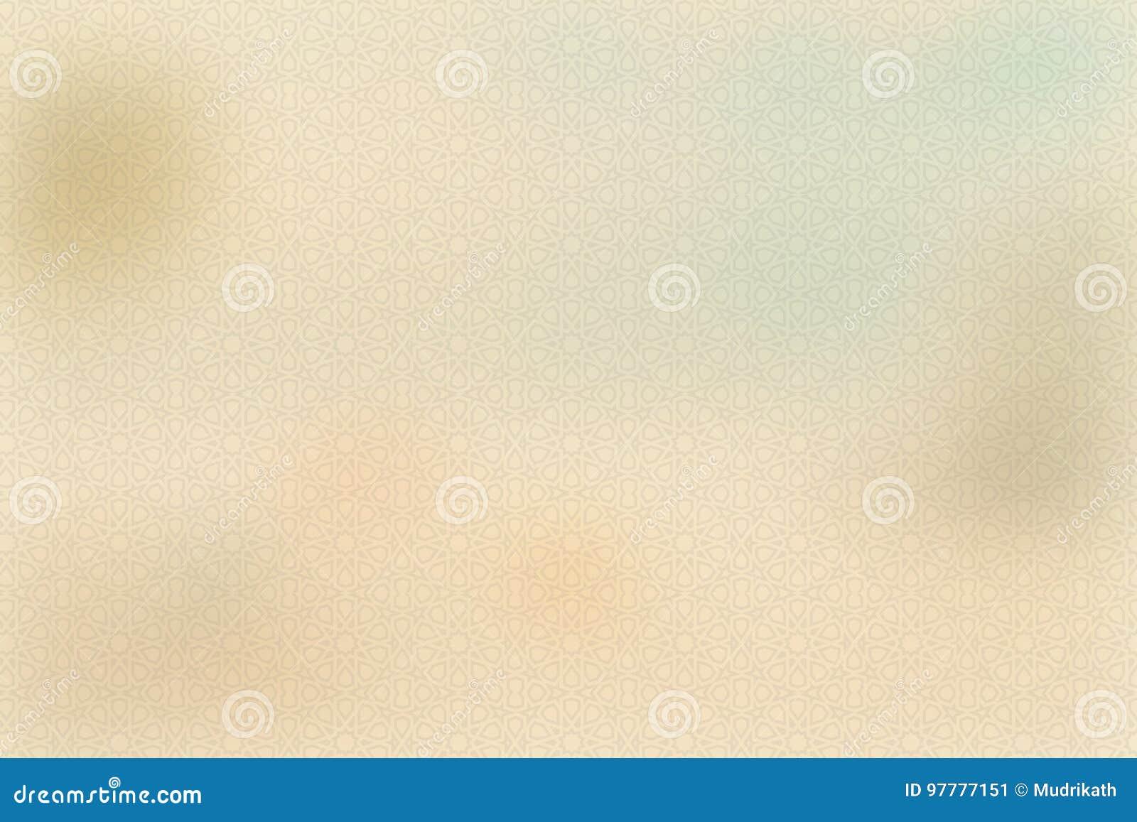 Creme amarelo do vintage ou cor bege, papel de pergaminho, inclinação pastel abstrato do ouro com fundo marrom, contínuo do Web s