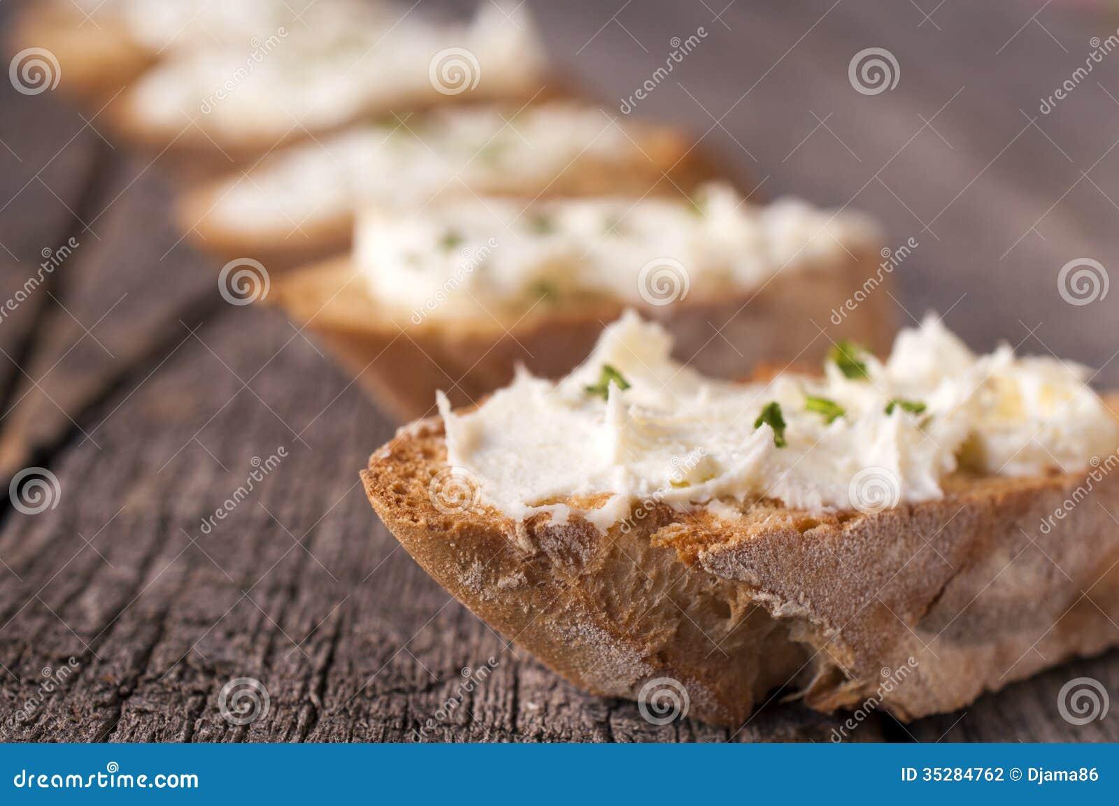 Creme no pão
