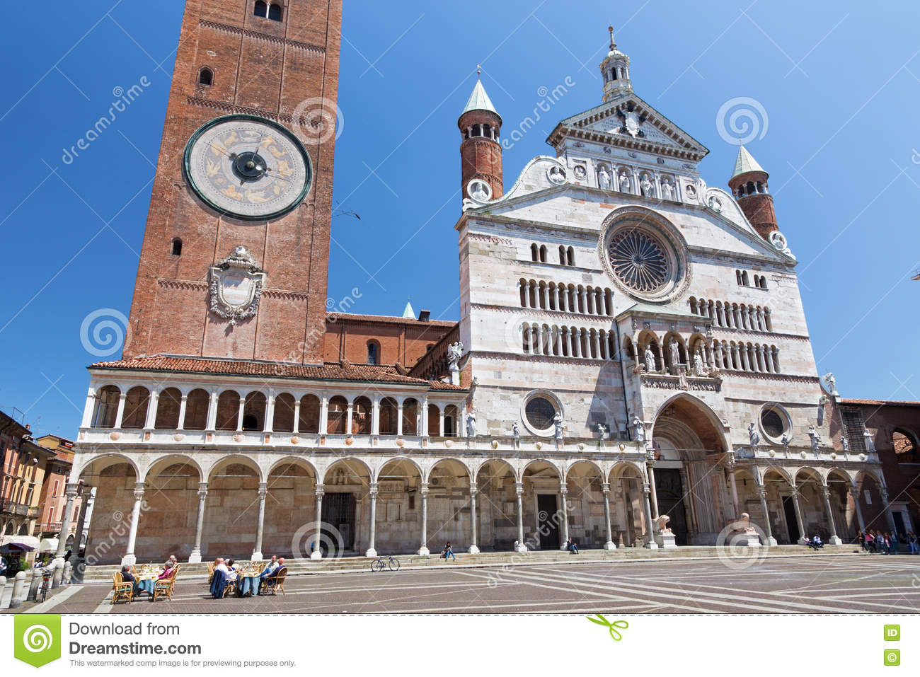 Download CREMONA ITALY 2016 The Cathedral Assumption Of Blessed Virgin Mary Stock