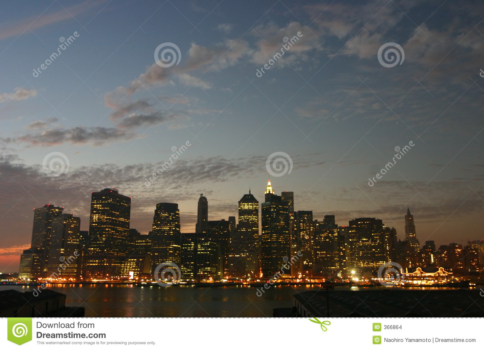 Crepúsculo de Manhattan