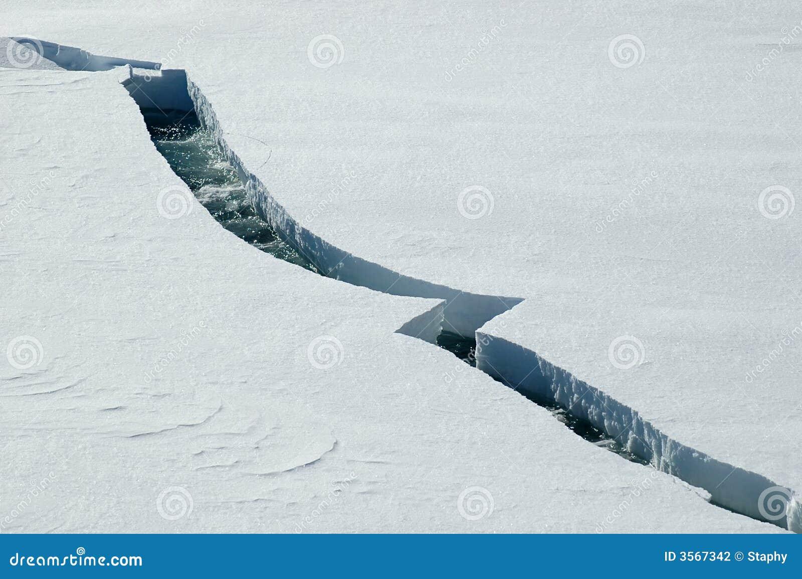Crepa del ghiaccio