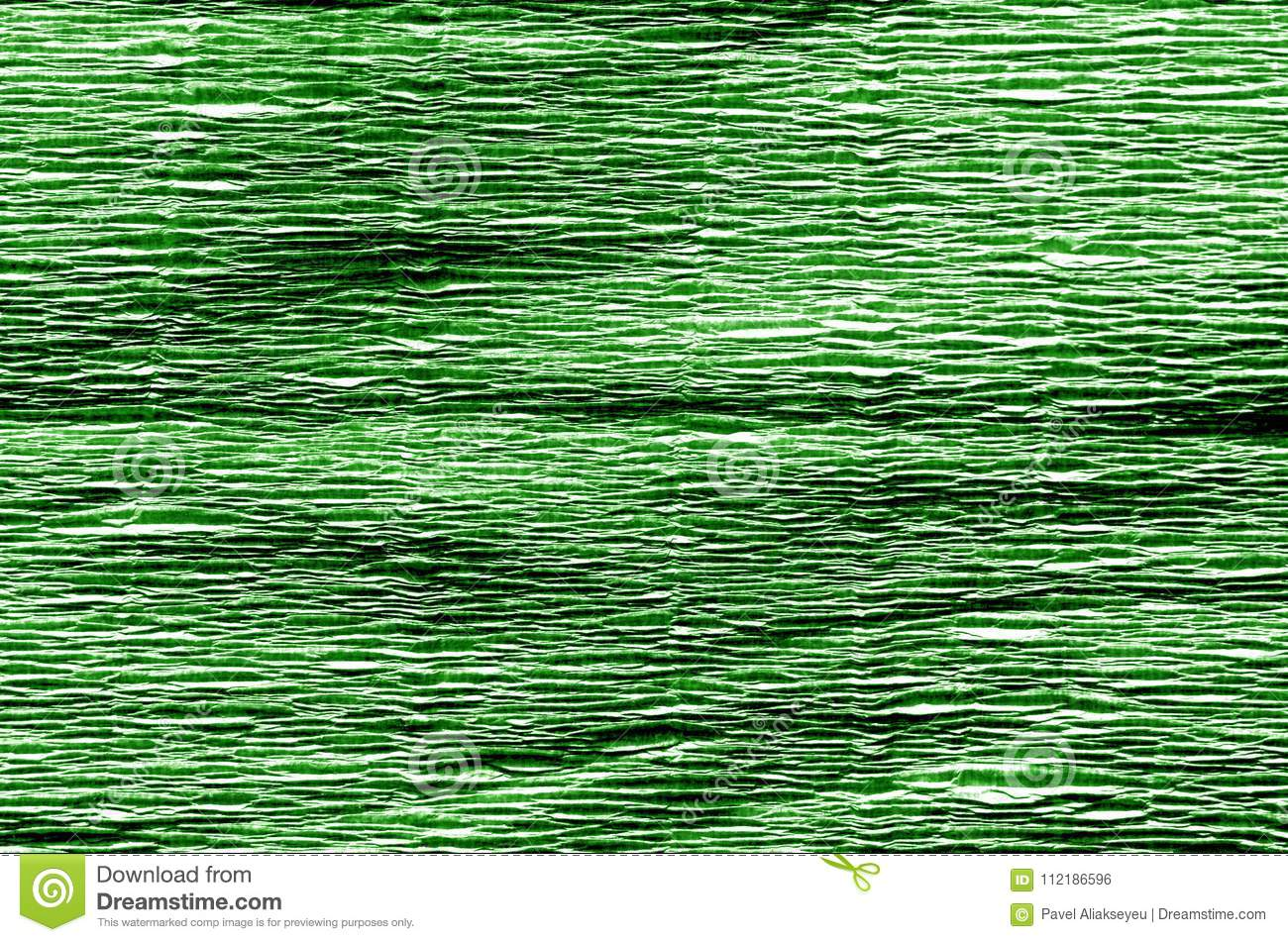 Crepe Paper In Green Color Stock Photo Image Of Nobody Craft