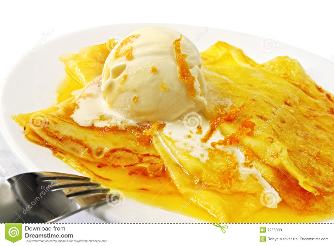 Crepes Suzette Royalty Free Stock Photos Image 7266398