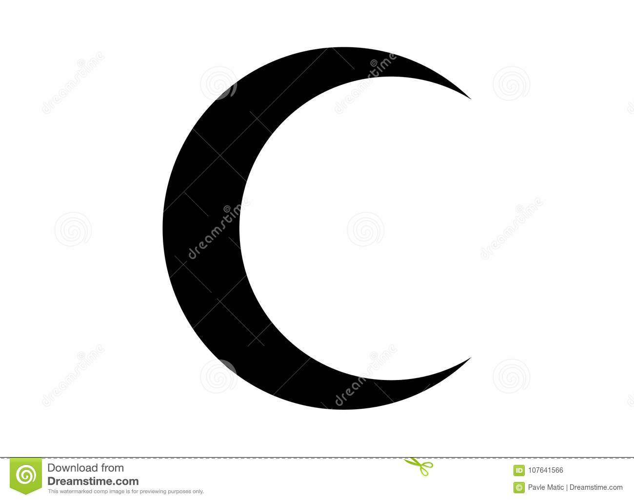 crescent moon symbol on iphone crescent moon symbol iphone choice image meaning of text 16845