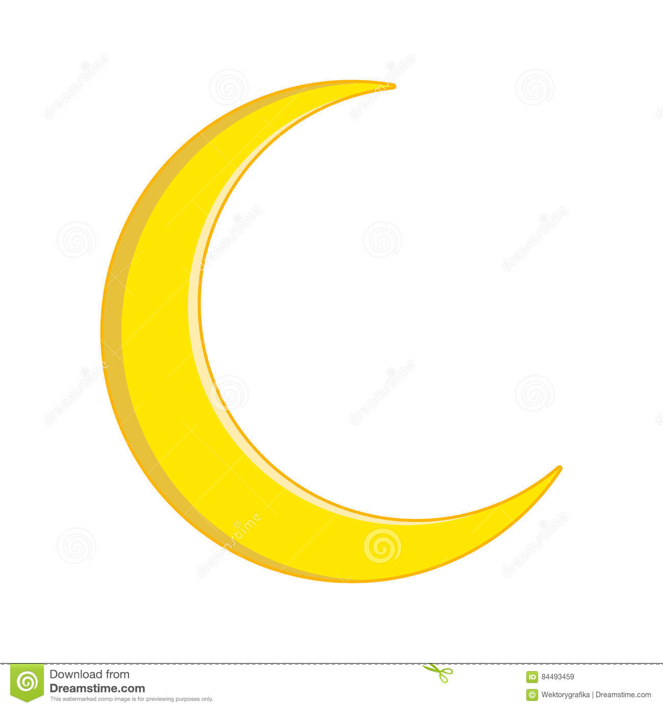 Crescent moon vector symbol icon design stock vector crescent moon vector symbol icon design buycottarizona Image collections