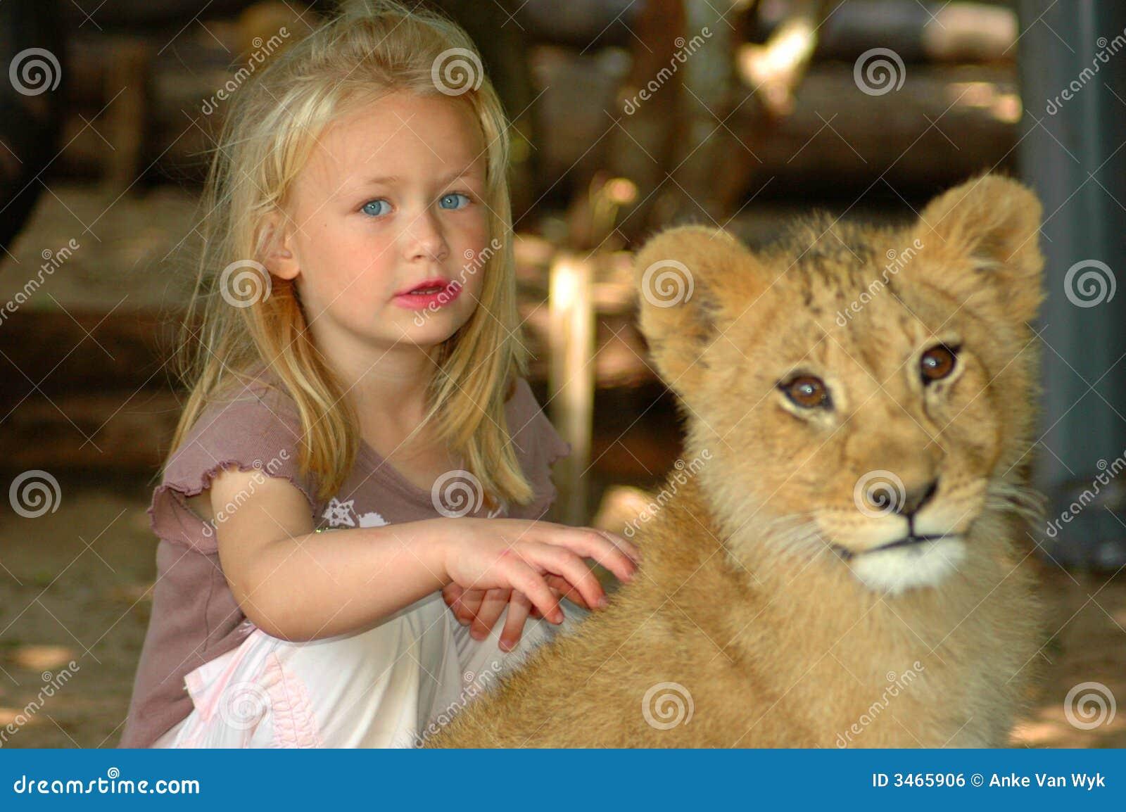 Crescimento acima com animais selvagens