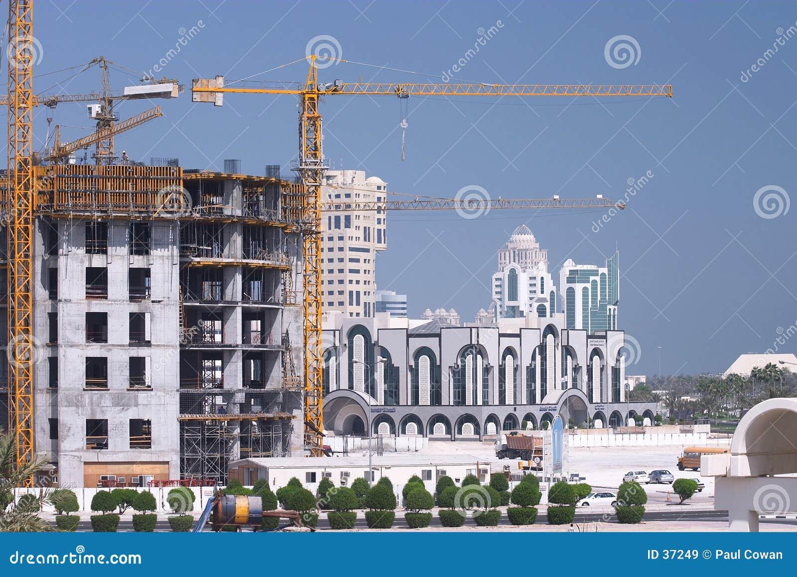Crescimento de construção