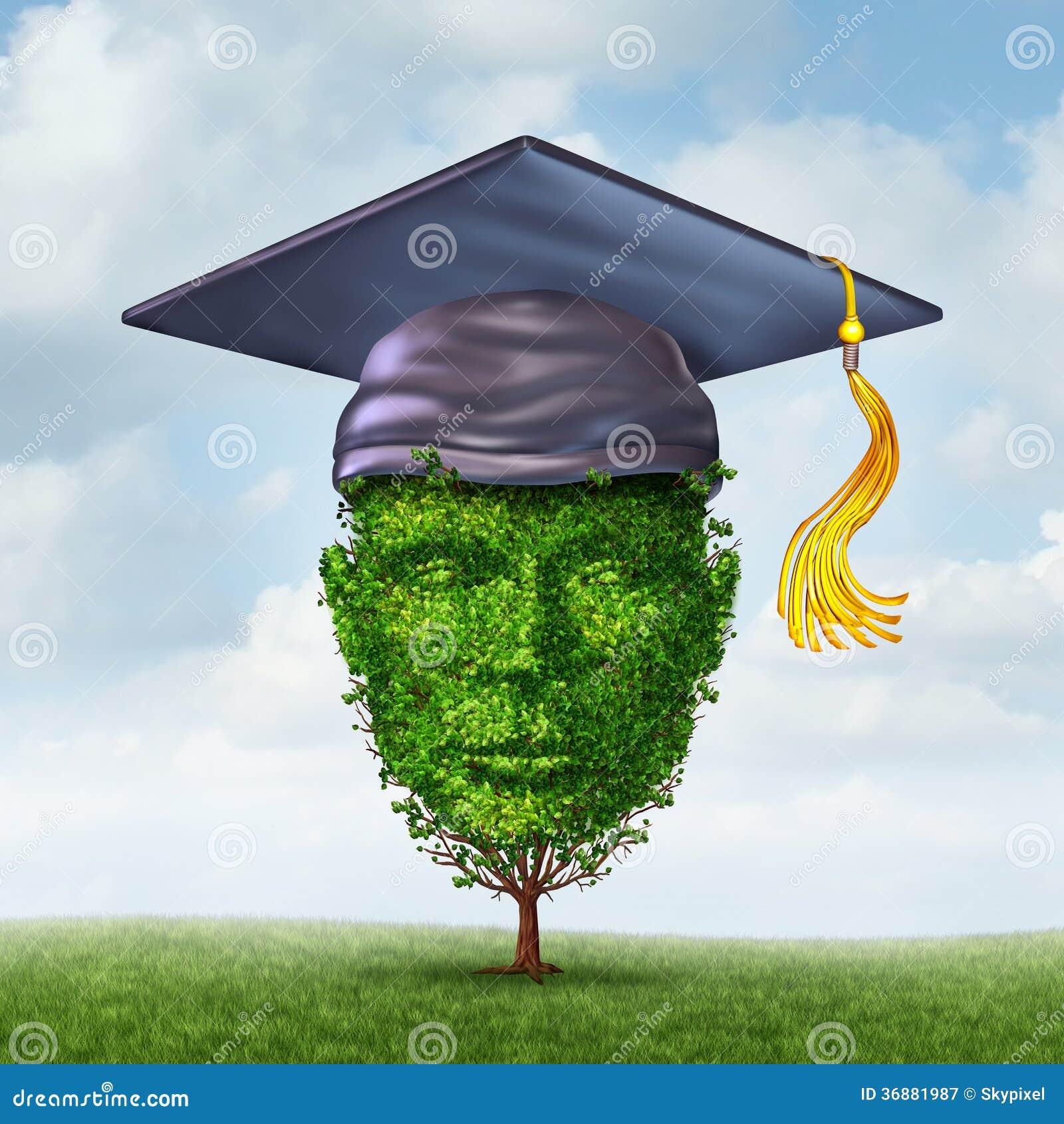 Download Crescita di istruzione illustrazione di stock. Illustrazione di concettuale - 36881987