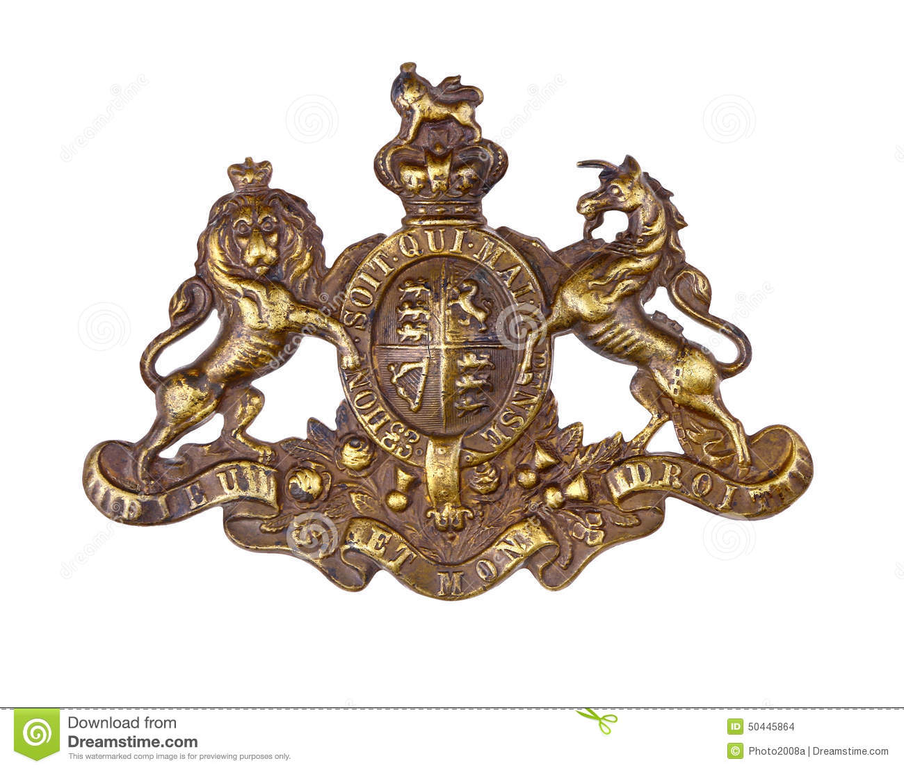 French Military Cap  Letters