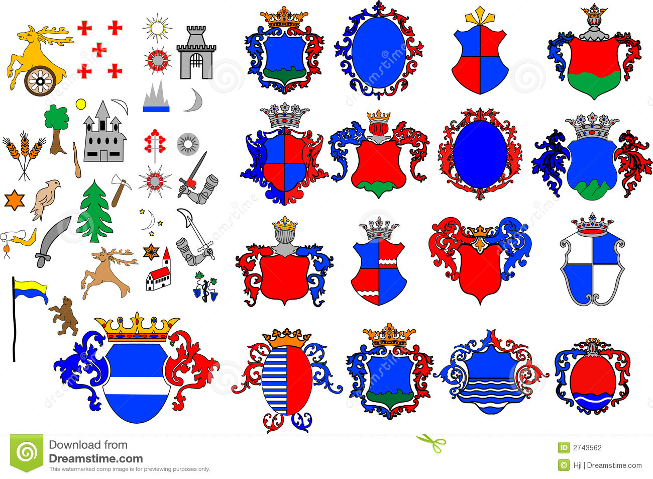 Crest collection