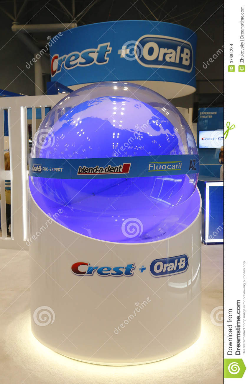 Image crest oral b booth at the greater ny dental meeting in new york