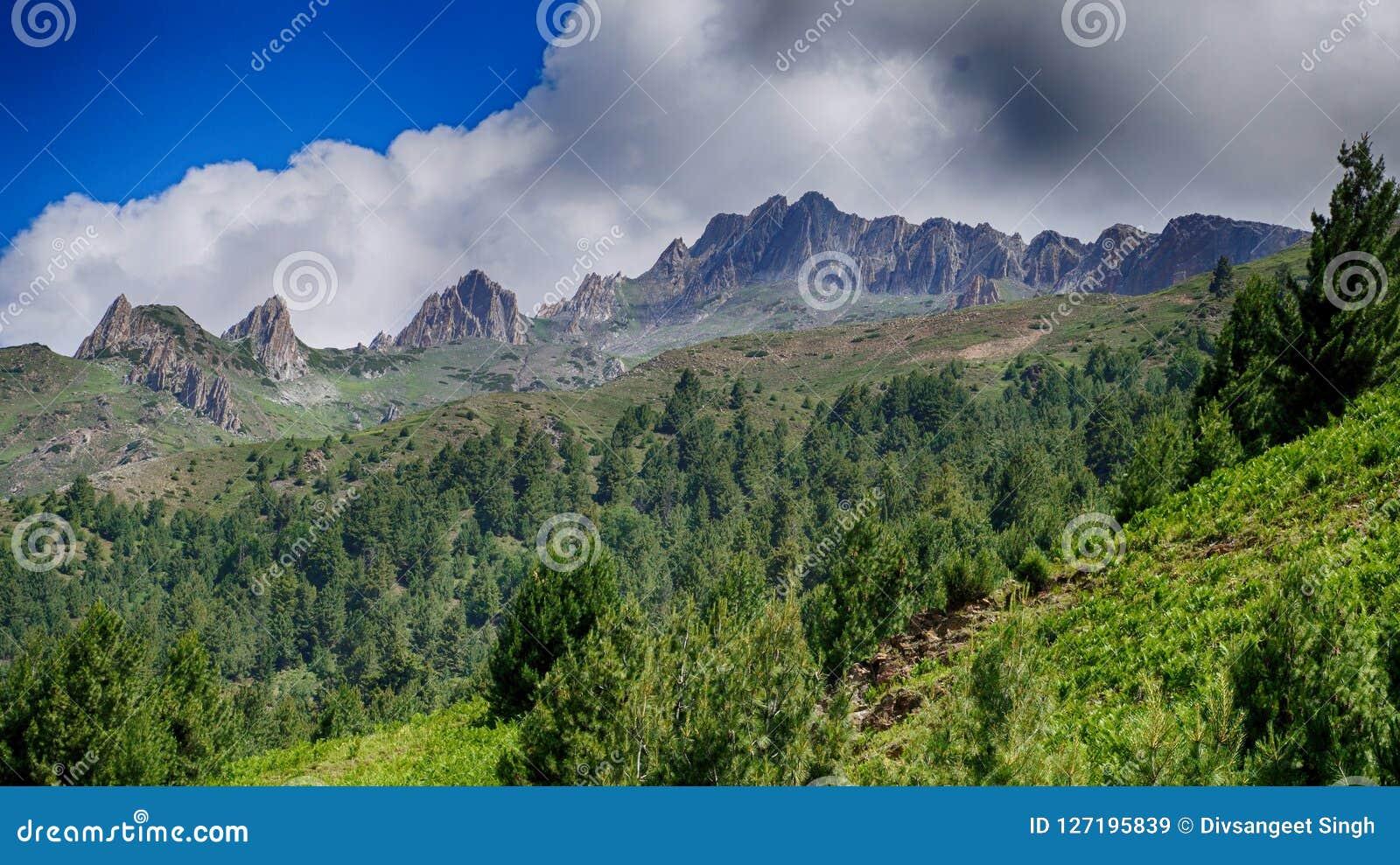 Creste della montagna