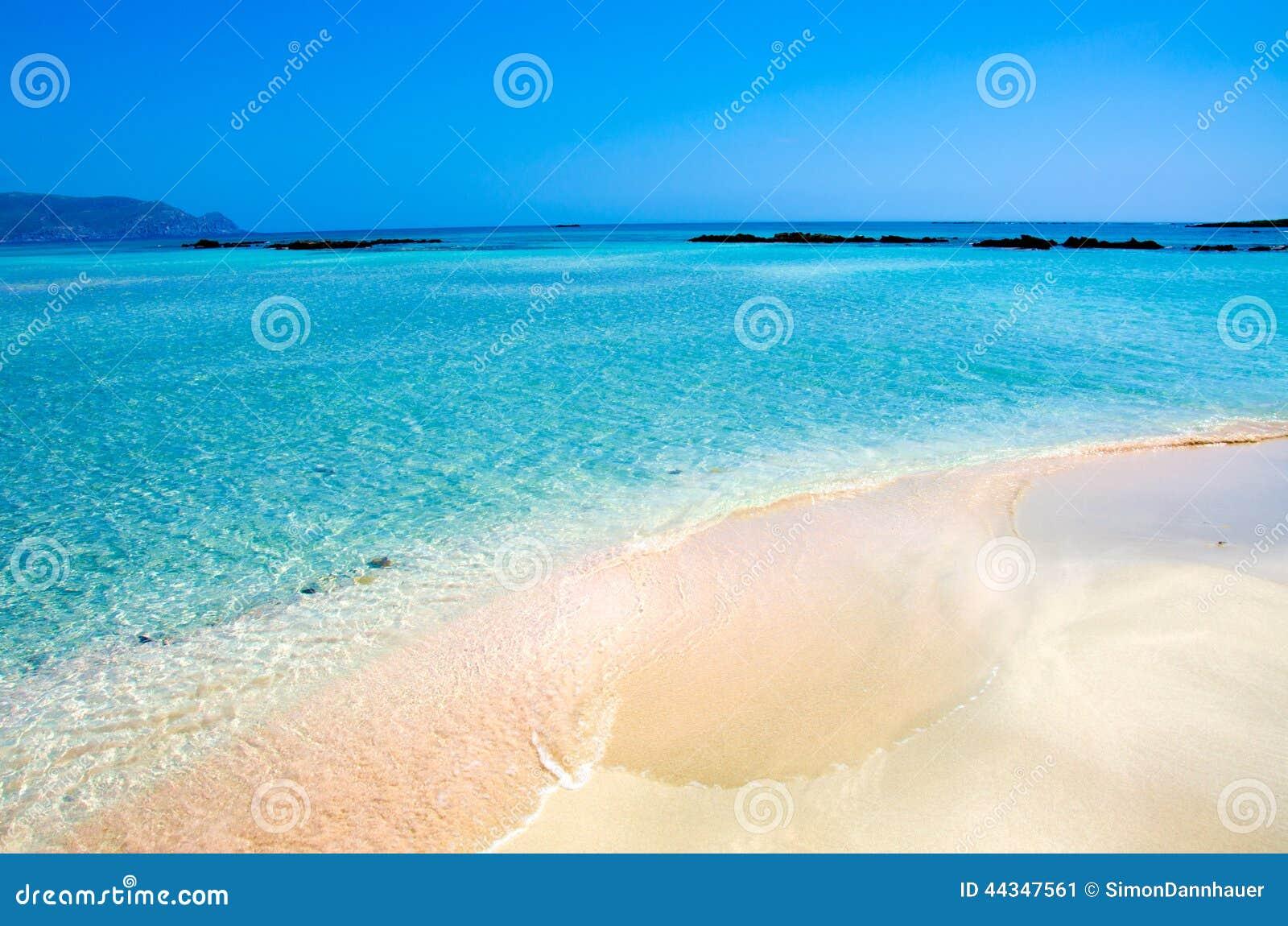 Elafonisi Beach Crete Island Greece