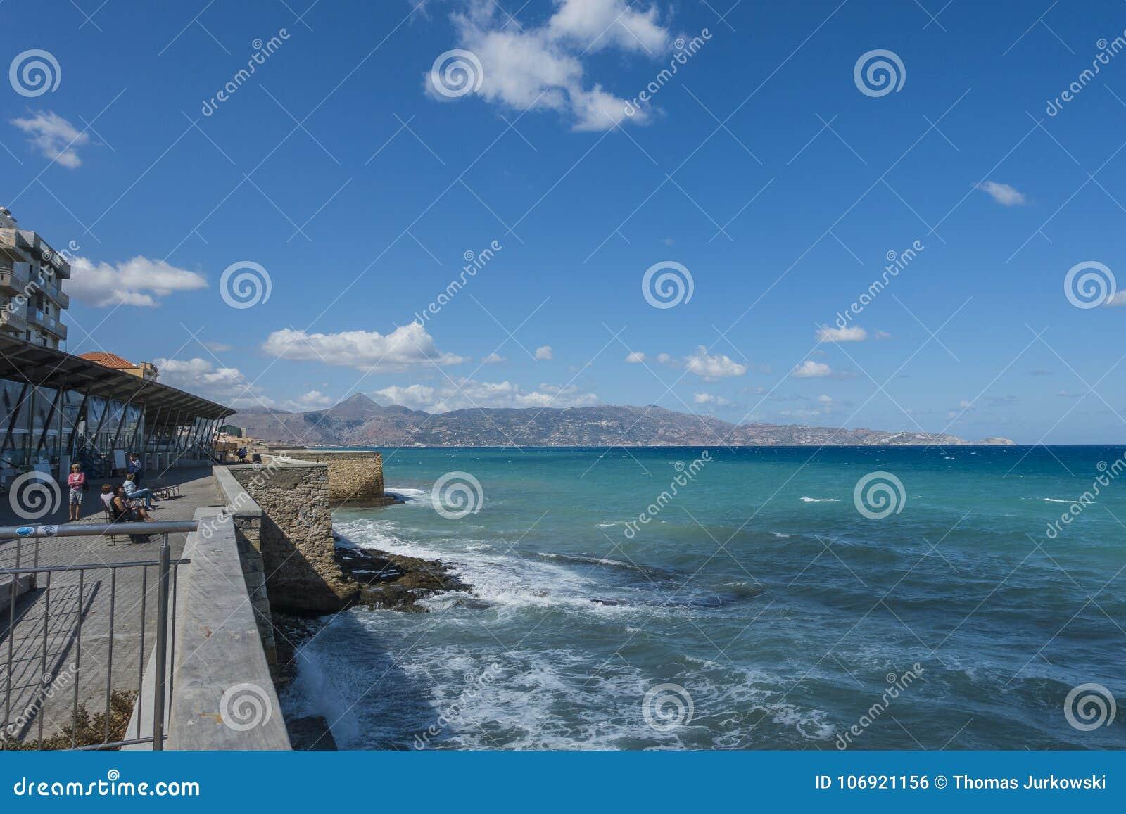 Crete brzegowa wyspa