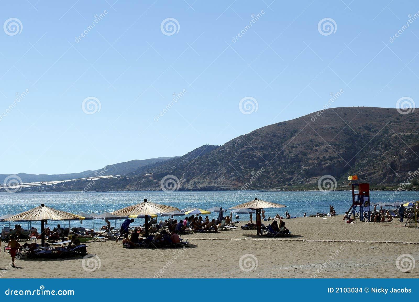 Crete Paleohora Beach Stock Images - Image: 2103034
