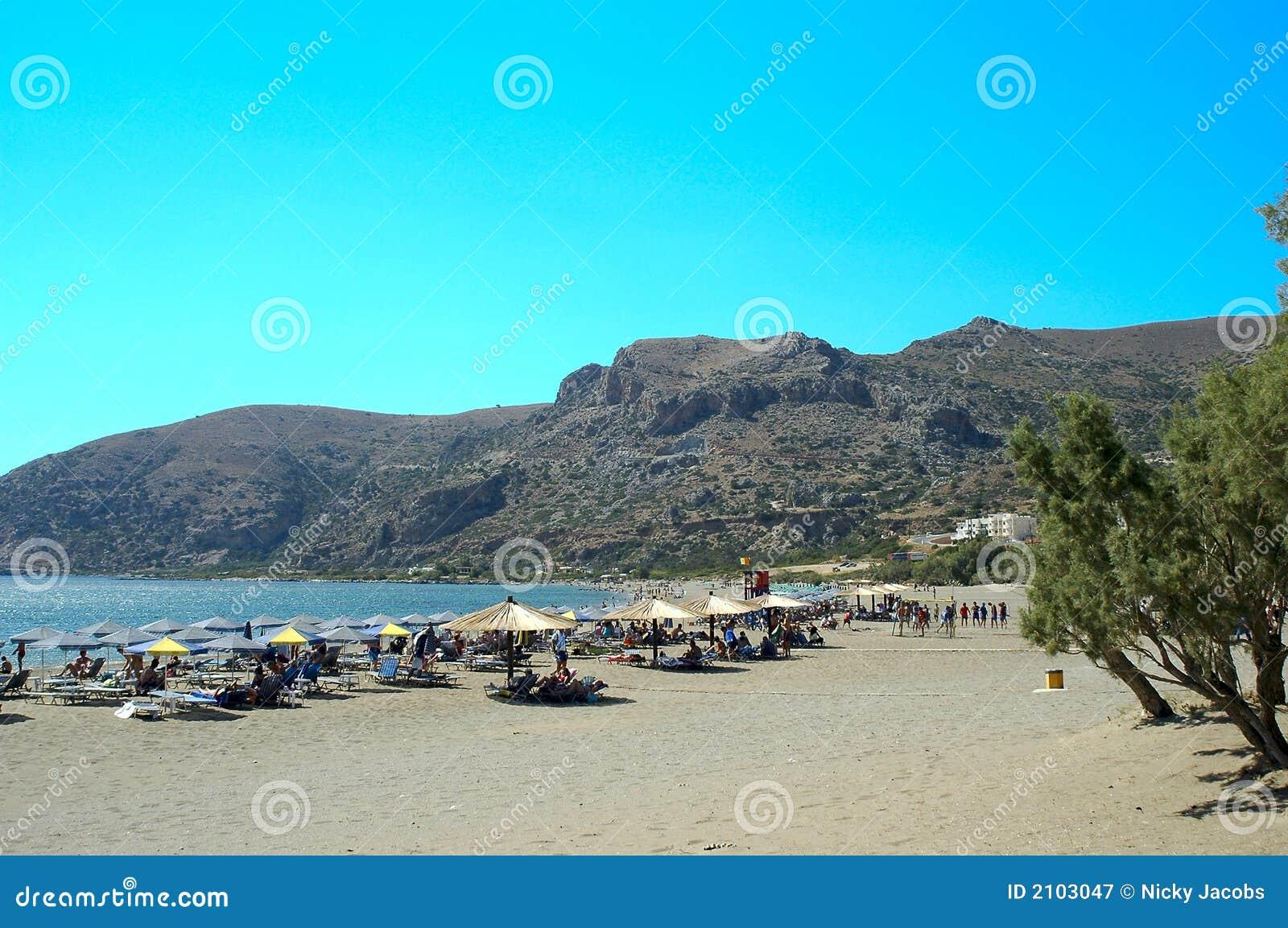 Crete Paleohora Beach Royalty Free Stock Photography ...
