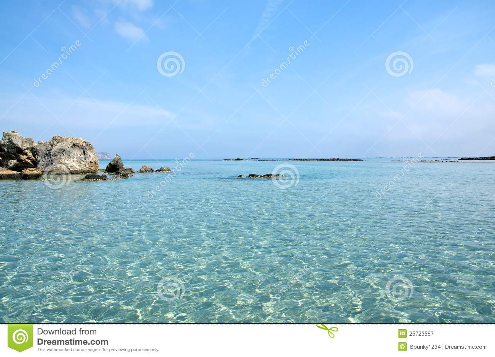 Crete plażowy elafonisi