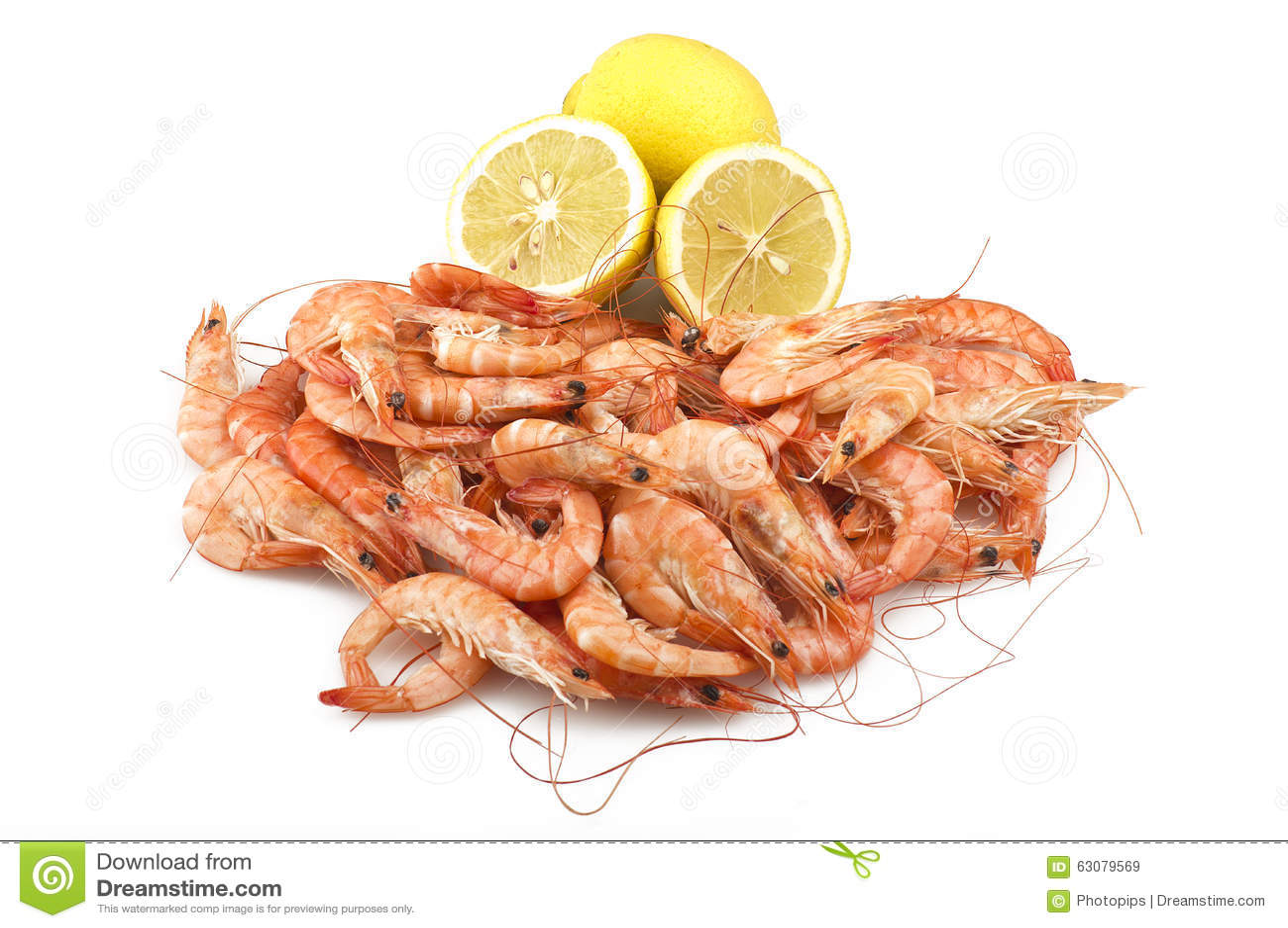 Download Crevette crue fraîche image stock. Image du prawn, seafood - 63079569