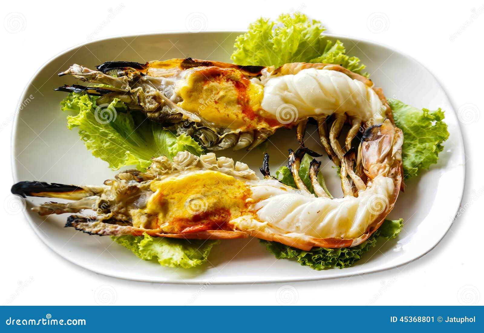 Crevette grillée