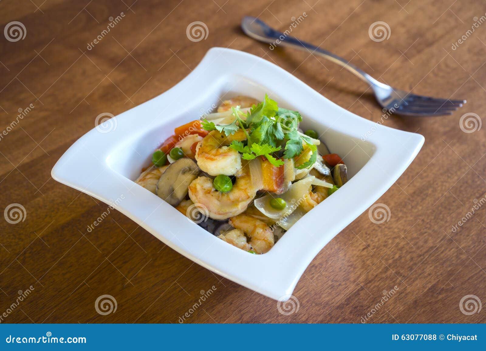 Download Crevette Verte Thaïlandaise #1 De Cari Photo stock - Image du cuvette, shellfish: 63077088