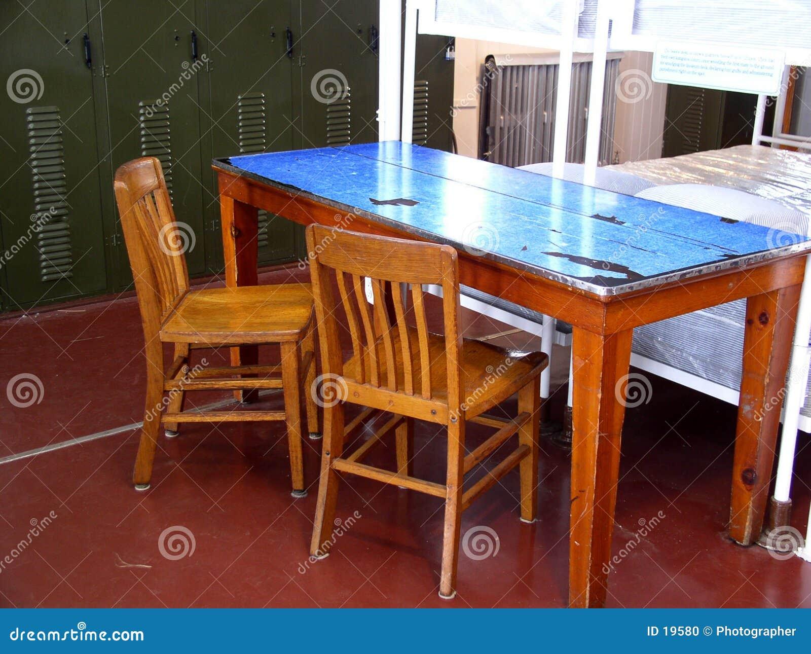 Crew quarters table