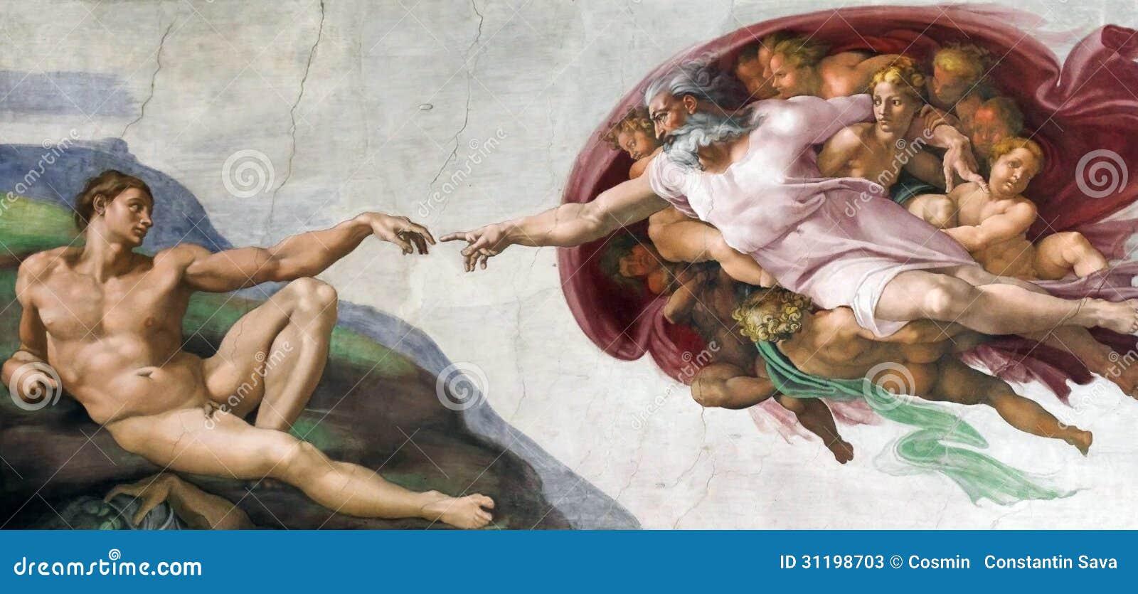 Criação de Michelangelo