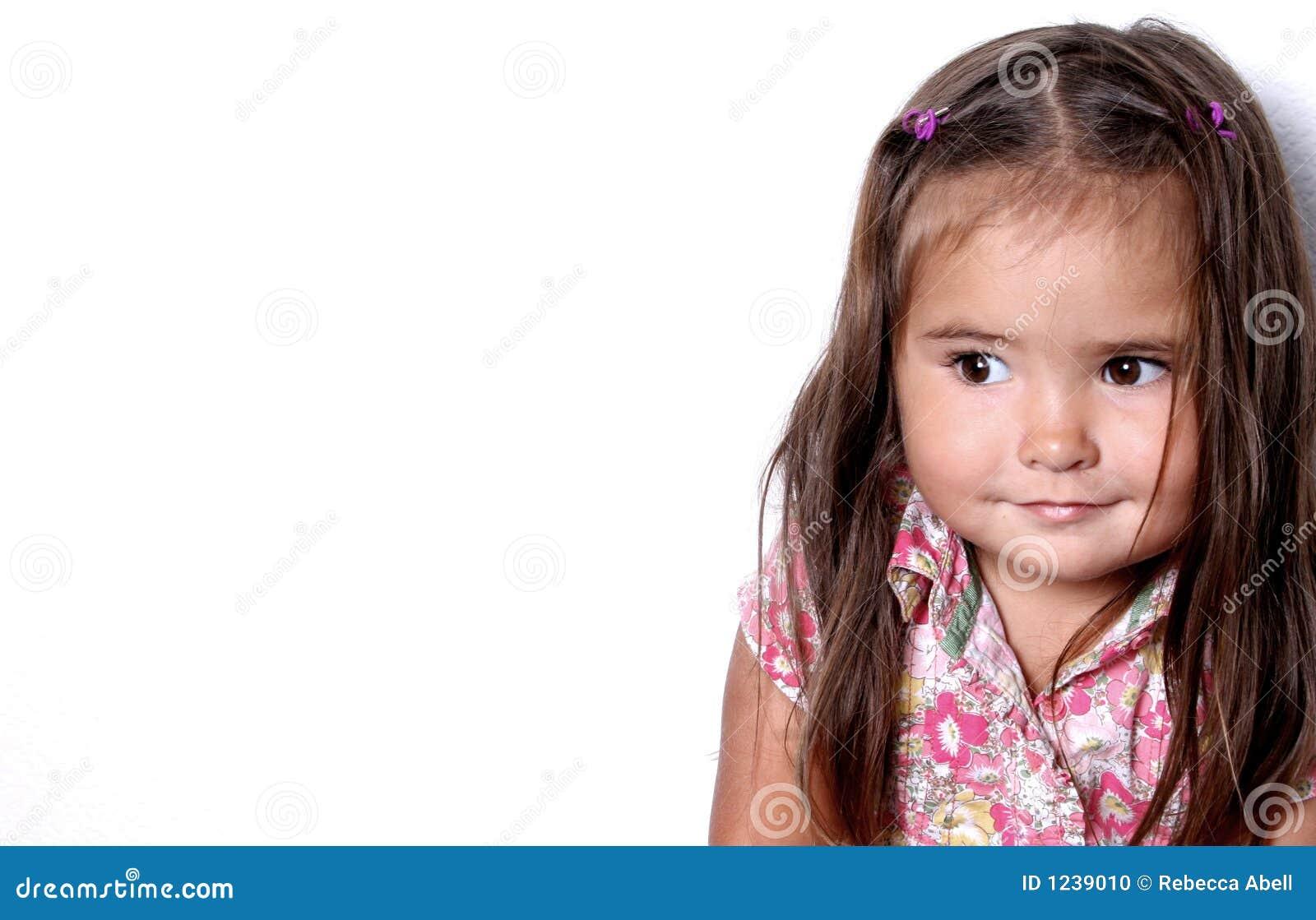 Criança de sorriso bonita