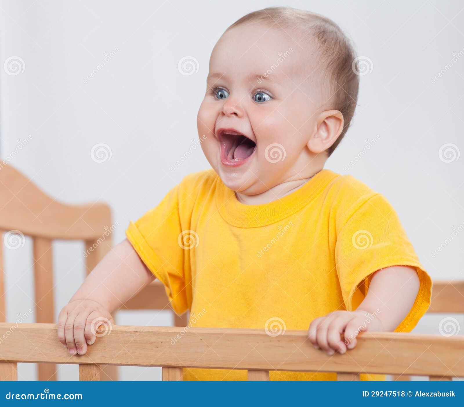 Download Criança encantador na ucha foto de stock. Imagem de atividade - 29247518