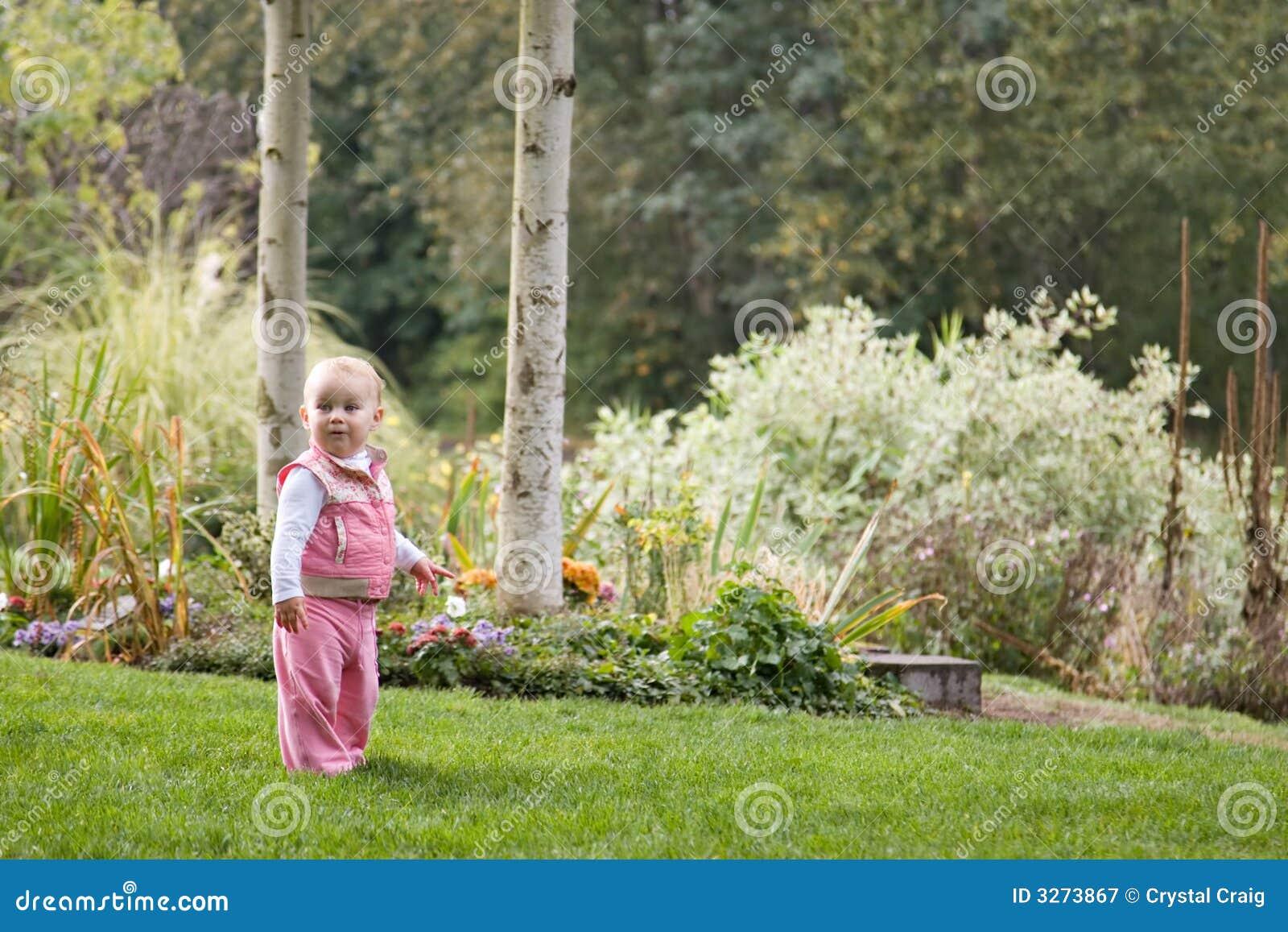 Criança no parque
