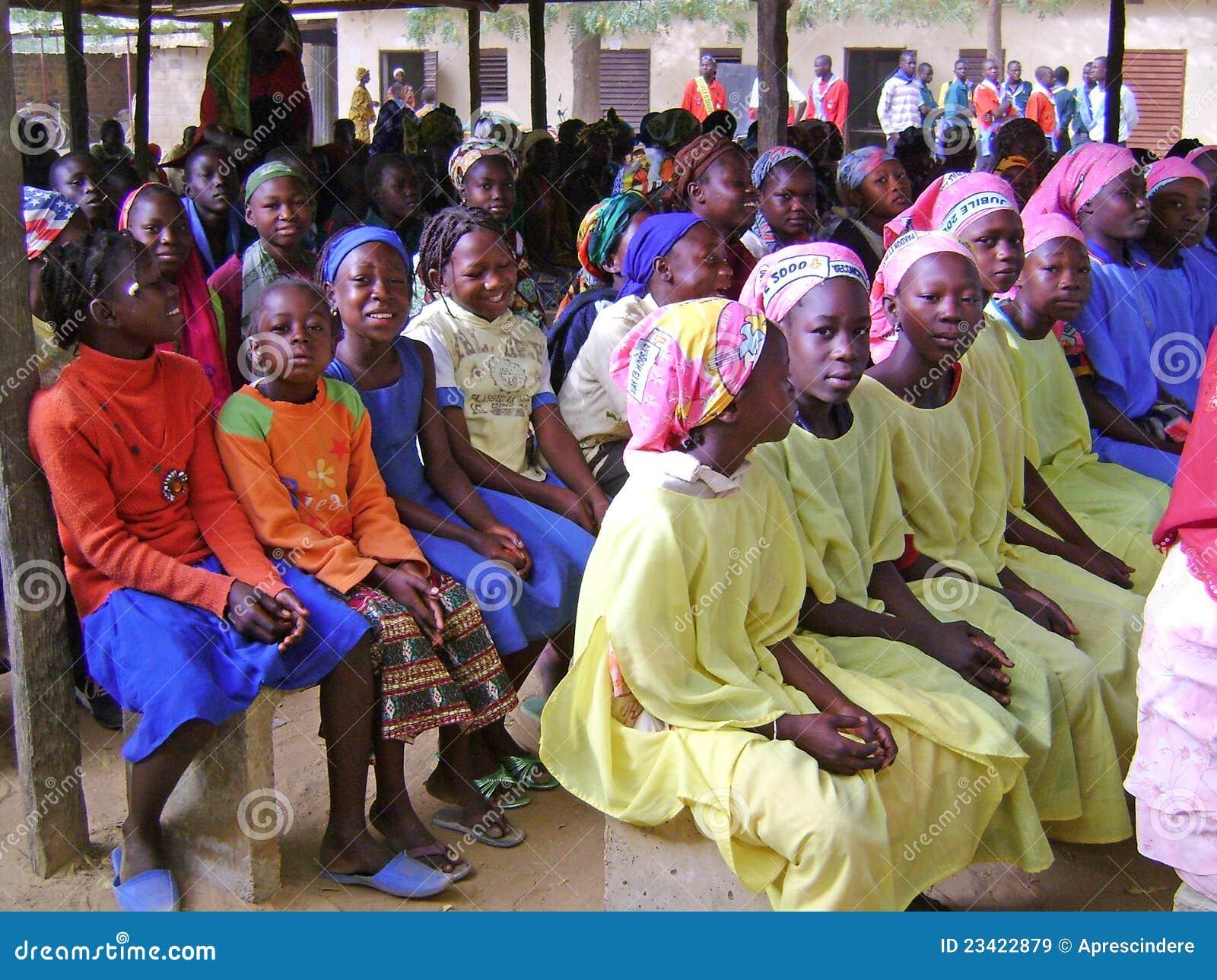 Crianças africanas - Ghana