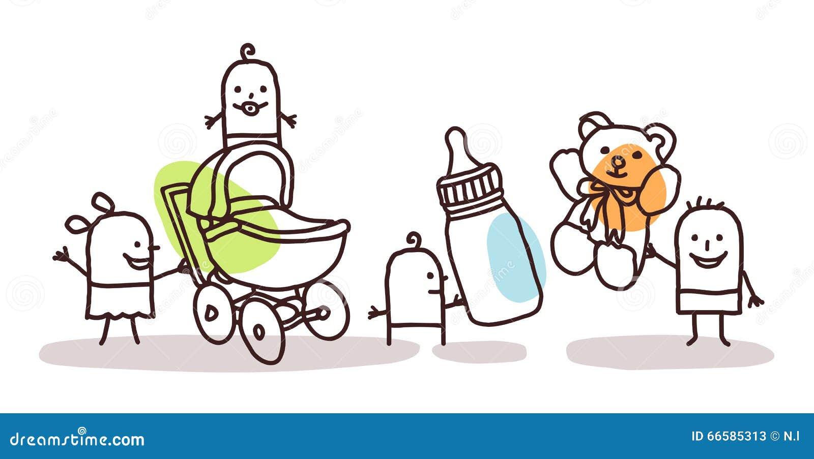 Crianças com acessórios