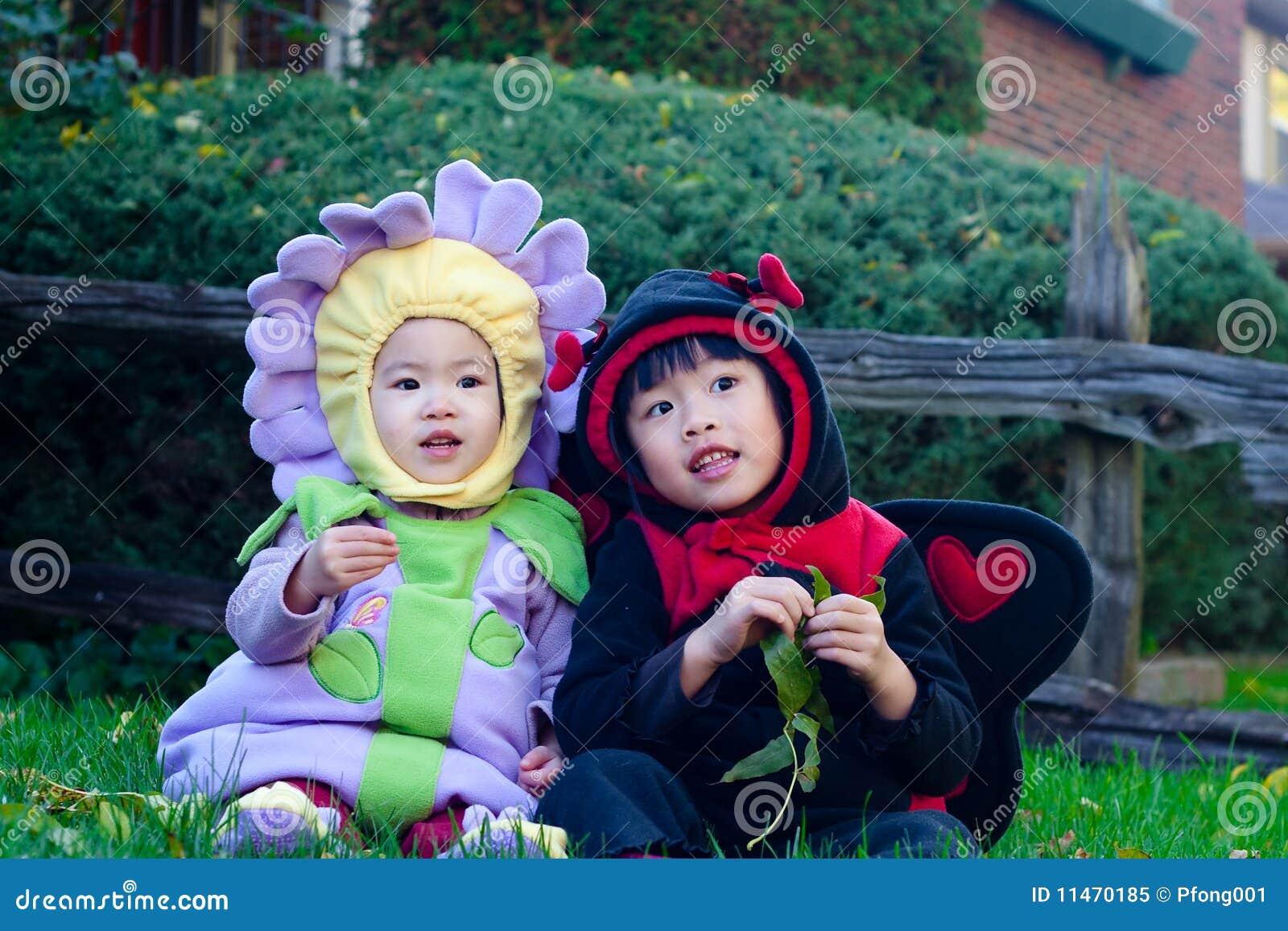 Crianças de Halloween