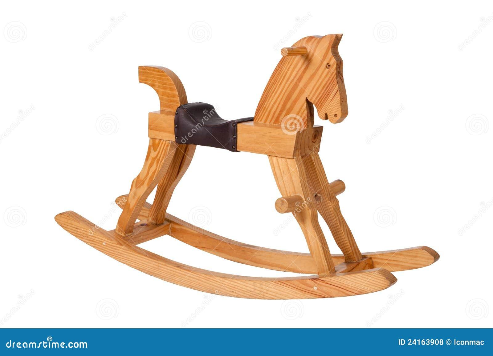 Crianças De Madeira Da Cadeira Do Cavalo De Balanço Fotos de Stock  #AB6820 1300x957