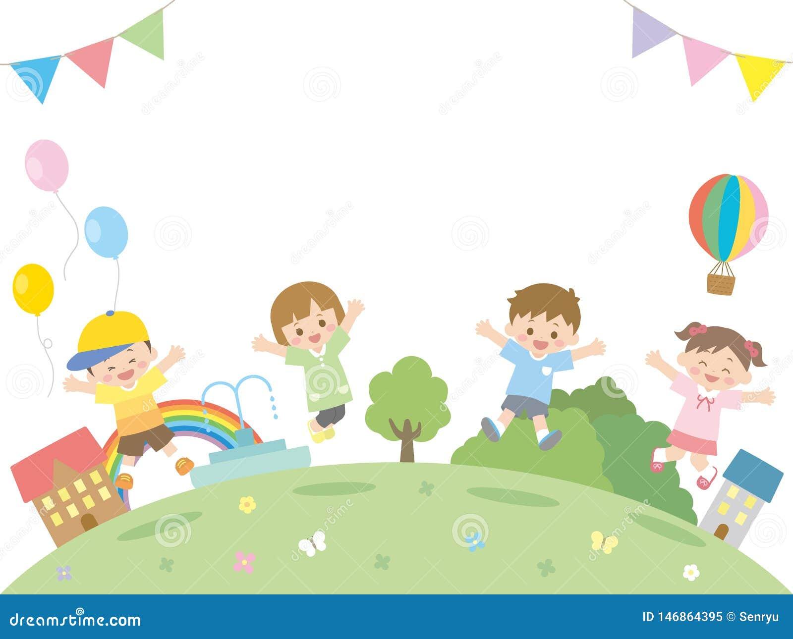Crianças jump2