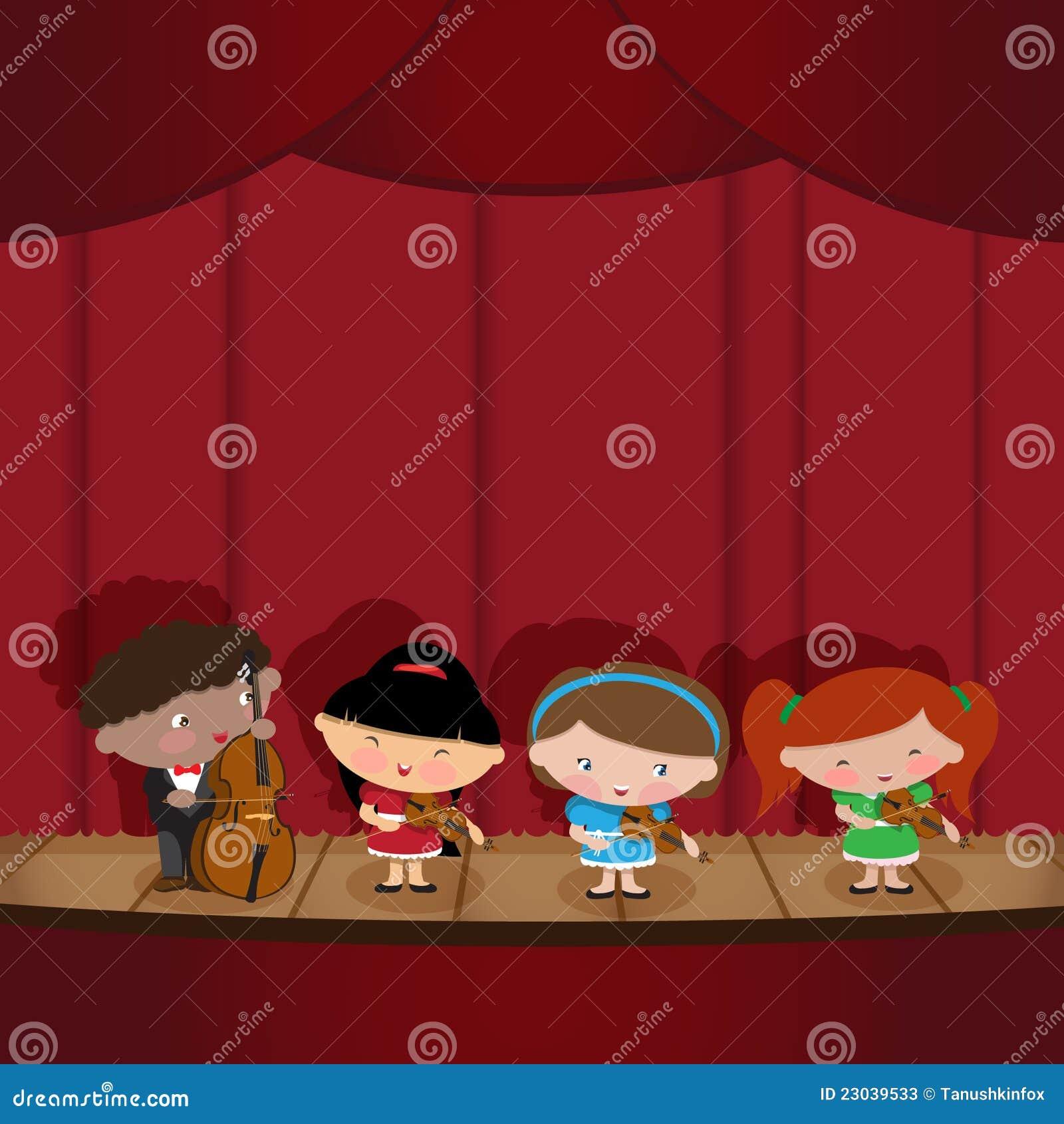 Crianças - músicos
