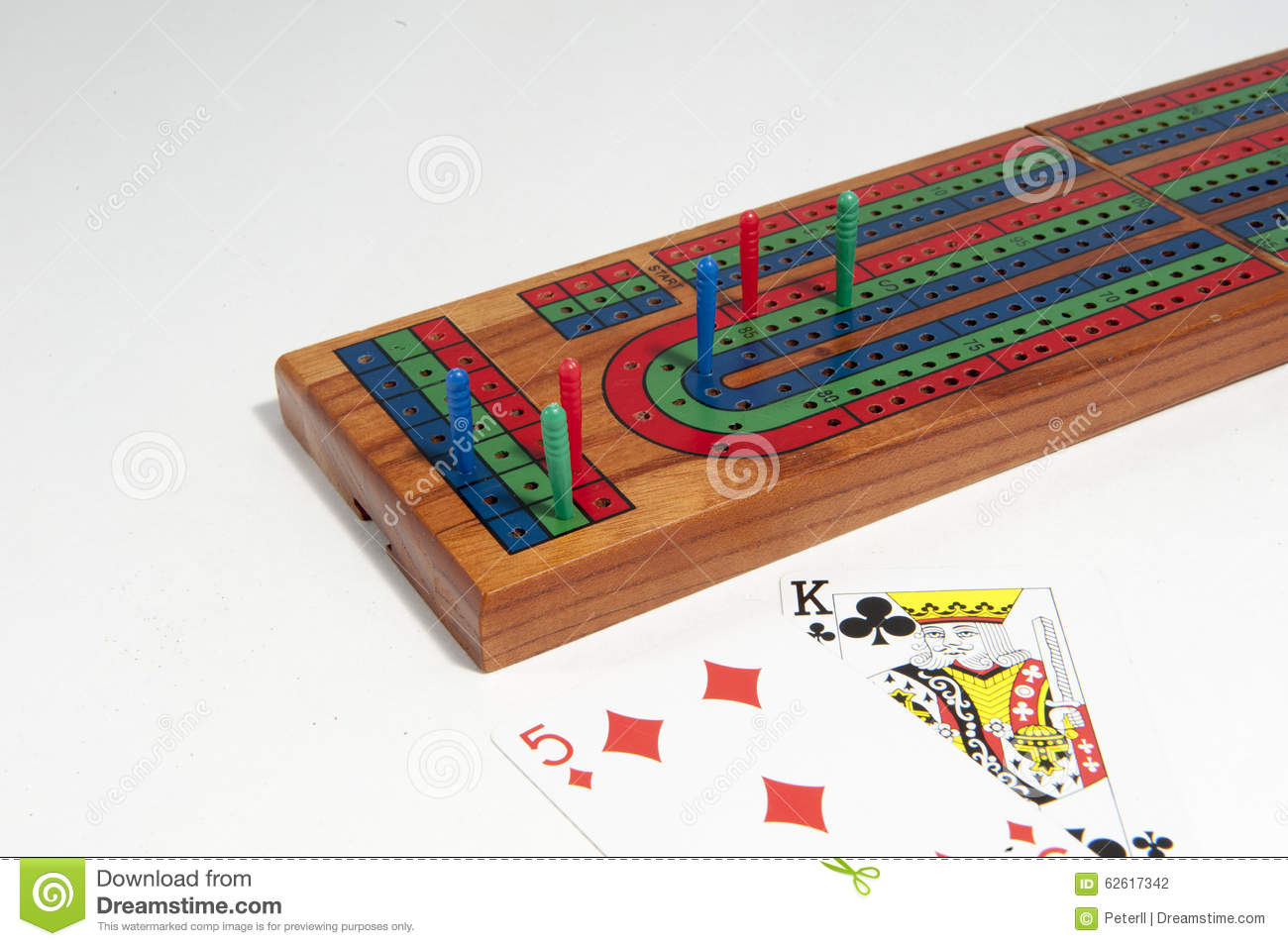 how to move pegs in cribbage