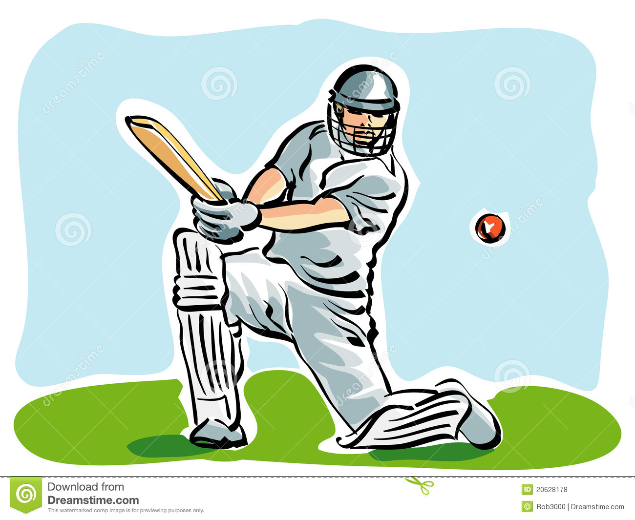 Cricket Royalty Free Stock Photos - Image: 20628178