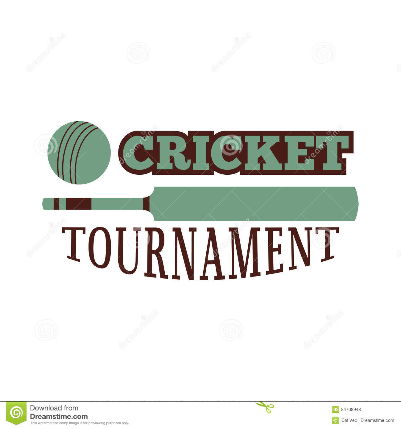 Cricket badge vector stock vector illustration of badge 84708948 cricket label emblem mascot wicket winner pitch template for sport team with ball and symbol competition graphic champion badge maxwellsz