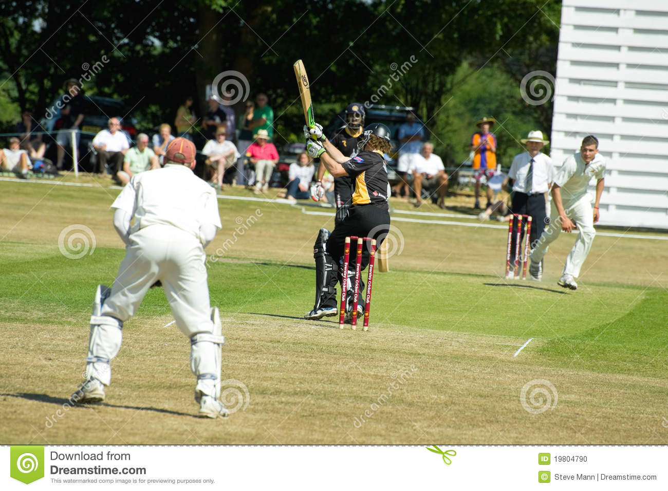Eversley United Kingdom  City new picture : EVERSLEY, UNITED KINGDOM JUNE 3, 2011: Former New Zealand cricketer ...